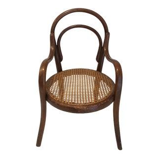 1880s Thonet Model No. 1 Children's Armchair