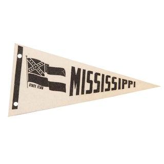 Mississippi State Felt Flag