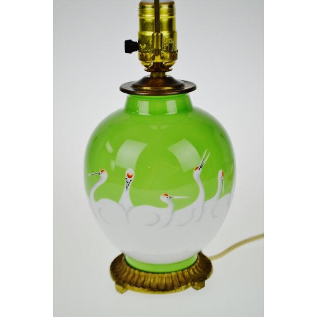 Vintage Morimura Bros. Noritake Vase Table Lamp - Image 5 of 11