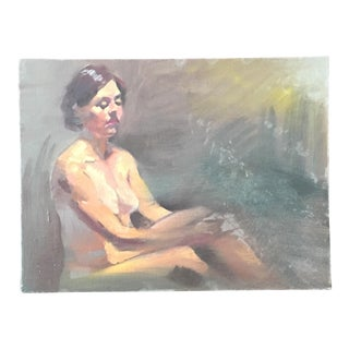 Nude Study Oil Painting