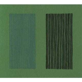 "Gene Davis ""Green Giant"" Lithograph"