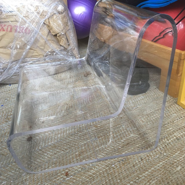 Image of Replica 70s Lucite Chair