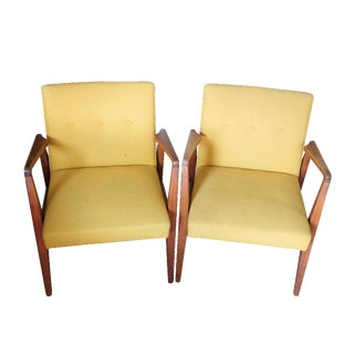 Jens Risom Office Chairs - A Pair