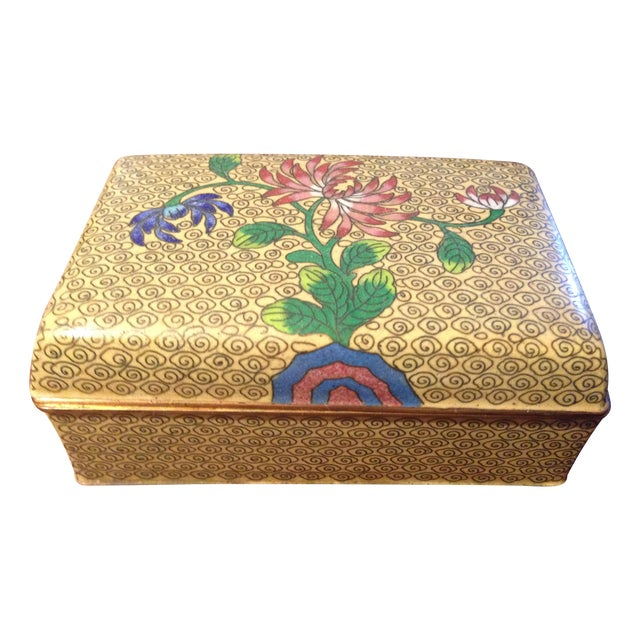 Vintage Cloisonne Box - Image 1 of 5