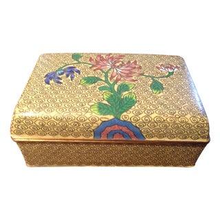 Vintage Cloisonne Box