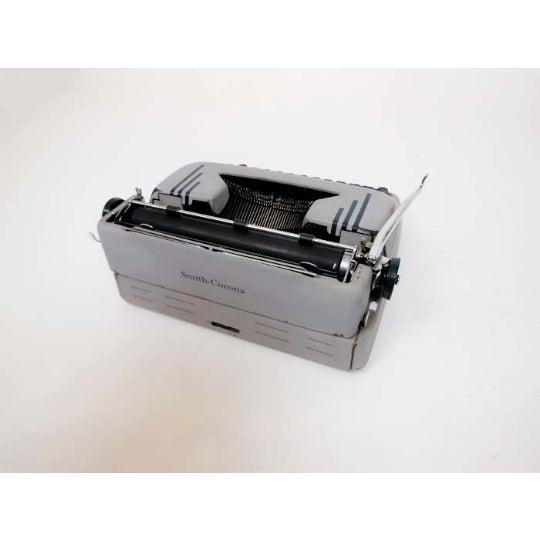 Image of Art Deco 1950s Corona Typewriter