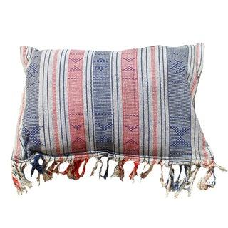 """""""Brunna Sumba Ranggo"""" Handwoven Ikat Pillow"""