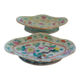 18th C. Chinese Export Serving Dishes, A Pair
