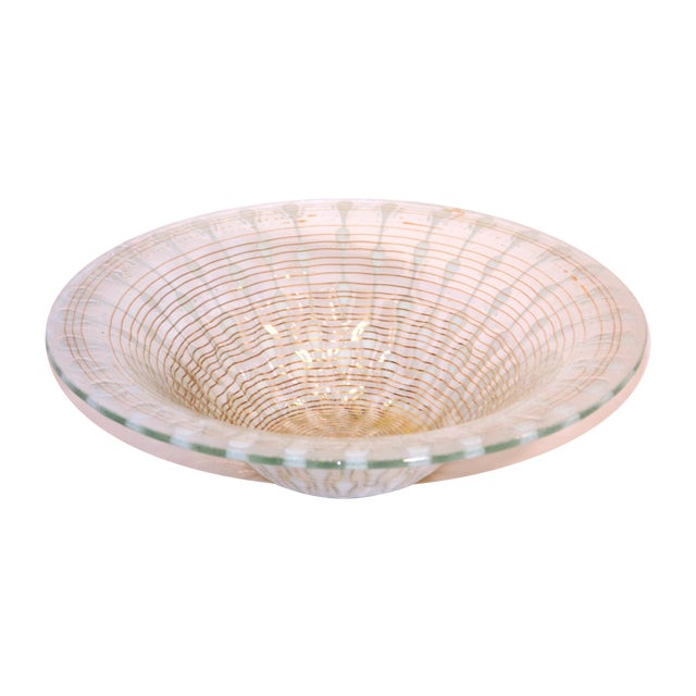 Image of Murano Style Glass Bowl