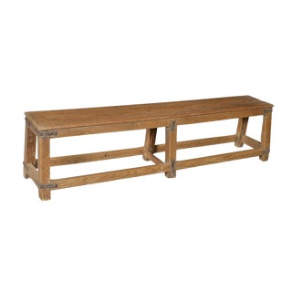 Colonial Teak Wood Bench