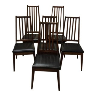 Mid 50's Danish Modern Dining Chairs - Set of 6