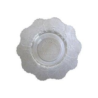 Vintage Lalique Crystal Anniversary Dish