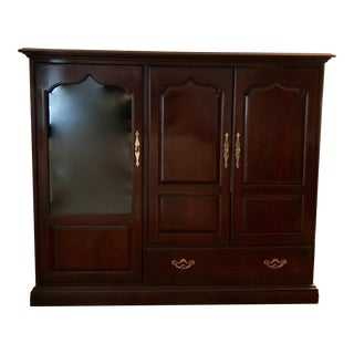 Thomasville Cherry Entertainment Cabinet