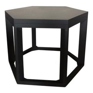 Hexagon End Table