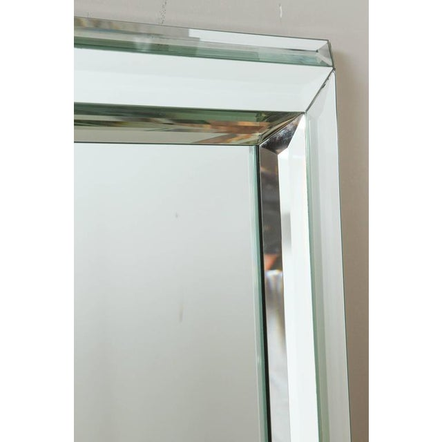 Large All-Glass Wall Mirror - Image 3 of 7