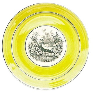 Vintage German Mottahedah Bird By the Lake Plate