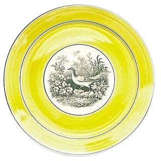 Vintage German Mottahedah Bird By the Lake Plate
