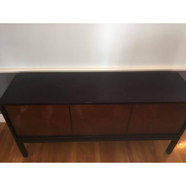 Crate & Barrel Cirque 3 Door Sideboard - Image 6 of 11