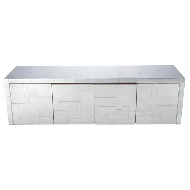 """Image of PAUL EVANS """"CITYSCAPE"""" WALL-MOUNTED CABINET"""
