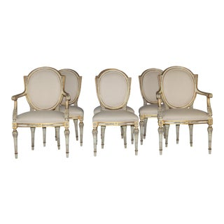 Karges Neoclassical Style Dining Chairs - Set of 6
