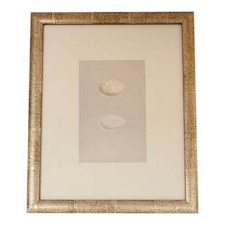 1870's English egg lithograph by Morris