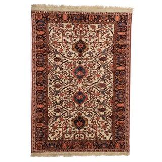 RugsinDallas Hand Knotted Wool Persian Joshan Rug - 4′ × 5′9″