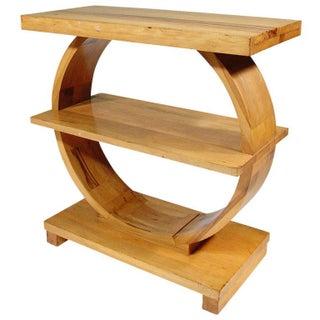 Art Deco Wood Table by Brown Saltman