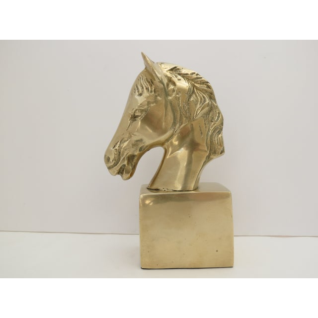 Image of Brass Horse Bust