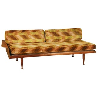 Danish Modern Teak Day Bed with Fan Arm
