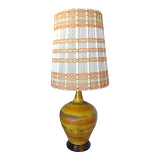 Mid-Century Lamp With Maria Kipp Lampshade
