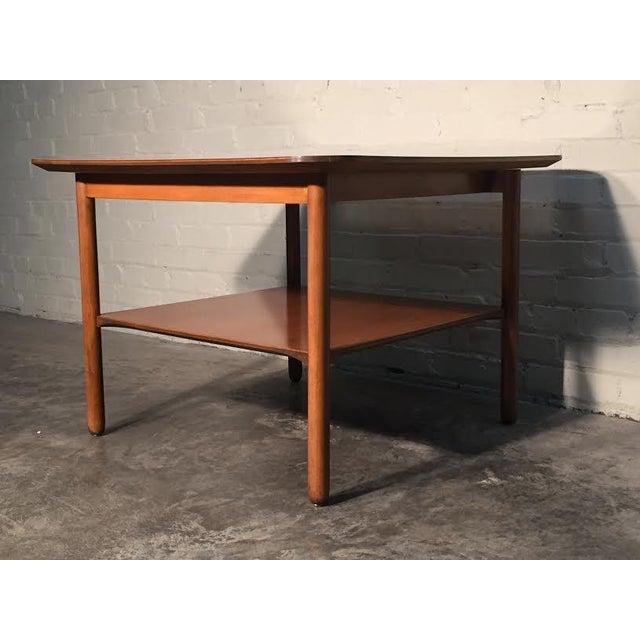 Mid-Century Modern Corner End Table - Image 10 of 10