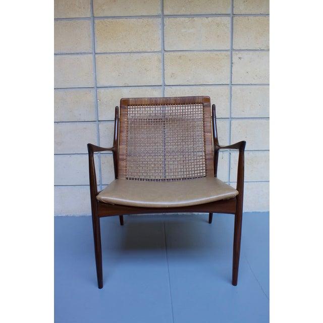 Kofod Larsen Cane Back Lounge Chair - Image 3 of 11