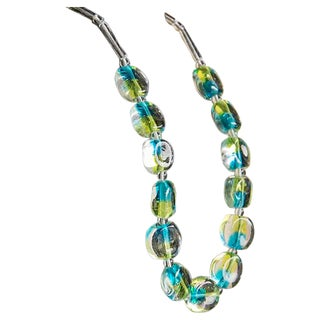 Venetian Glass Necklace by Ercole Moretti, Italy