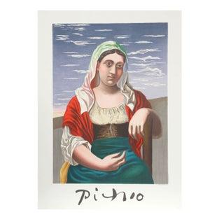 Pablo Picasso Italienne d'Apres Une Photographie