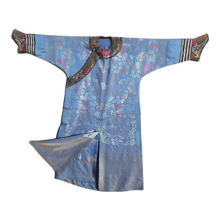 Antique Chinese Imperial Silk Brocade Kesi Robe-Qing Dynasty