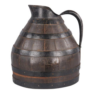 Barrel Shaped Wine Pitcher from Provence, Early 1900s