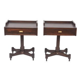 Architectural Pair of Sormani Tables by Claudio Salocchi