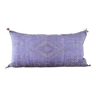 Lavender Moroccan Sabra Cactus Lumbar Cushion