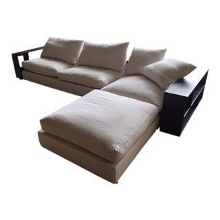 Flexform Custom Made Groundpiece Sofa
