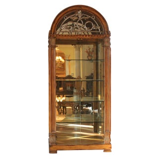 Spanish China & Display Cabinet for Royals