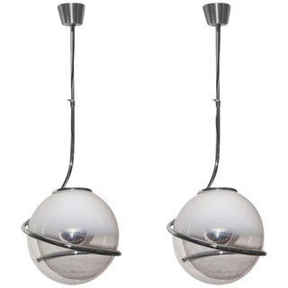 Pair of Fabio Lenci Pendant Lights