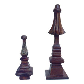 French Architectural Finials - Pair