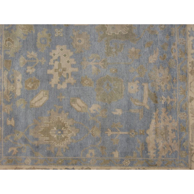 "Leon Banilivi Oushak Carpet - 9'7"" X 8'2"" - Image 4 of 5"