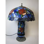 Image of Tiffany Style Stained Glass Table Lamp