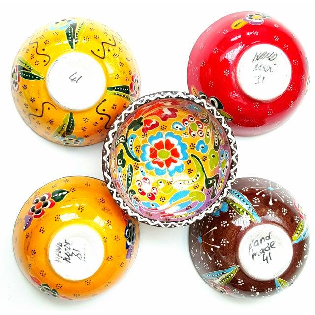Turkish Tile Bowls - Set of 5 - Image 4 of 4