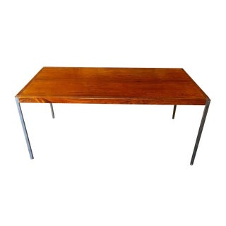 Midcentury Richard Schultz for Knoll Rosewood Desk