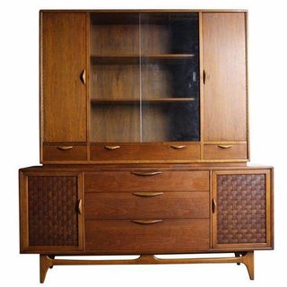 Mid-Century Modern Hutch and Cabinet