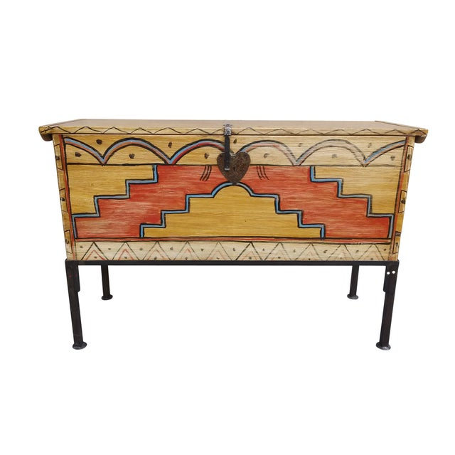 Hand Made Mexican Trunk by Carrington and Foss - Image 1 of 10