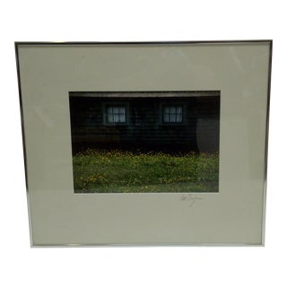 Covered Windows by Van Brynn Framed Color Photograph