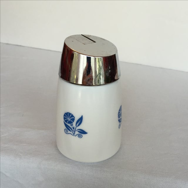 Milk Glass Sugar Dispenser - Image 9 of 11